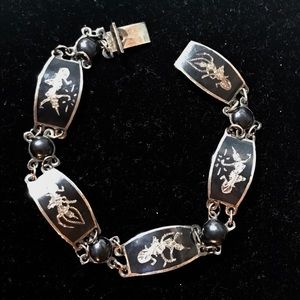 Jewelry - Very old Siam Sterling Bracelet